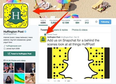 "Here's Why Those Snapchat Snapcode ""Ghosts"" Are Invading Twitter Profiles 