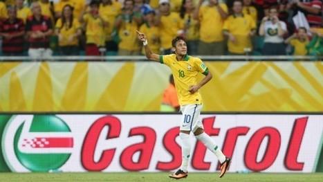 Neymar ambassadeur des lubrifiants Castrol pour le mondial | Insolites | Scoop.it