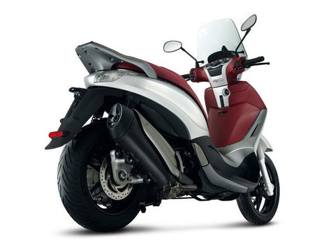 2013 New Piaggio Scooter BV350 Review - VENTO | Technology | Scoop.it