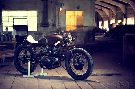 Honda CB cafe racer by ExesoR | Cafe Racers | Scoop.it