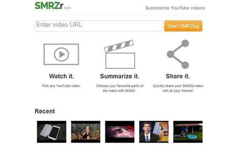 SMRZr, comparte solo los fragmentos de YouTube que te interesan | Al calor del Caribe | Scoop.it