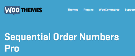 Woocommerce Sequential Order Numbers Pro Download | Download Free WordPress Theme, WordPress Plugin and Full Scripts. | woocommerce | Scoop.it