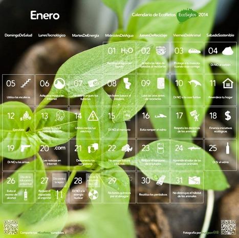 Calendar 2014 with 365 sustainable ideas | Eco Awareness | La importancia de preservar el medio ambiente | Scoop.it