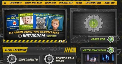 Free Technology for Teachers: Science Bob Helps Students Start Science Fair Projects | Edtech PK-12 | Scoop.it