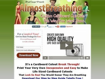 Make Cardboard Standees and Custom Cardboard Cutouts | Ebooks, Software and Downloads | Scoop.it