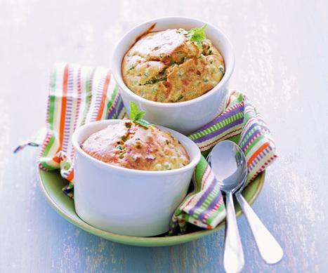 Recette facile : Minicake verts   Le Petit Creux   Scoop.it