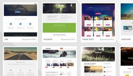 Diseño Web: Más de 800 plantillas web gratuitas en HTML5 | Desarrollo de Apps, Softwares & Gadgets: | Scoop.it