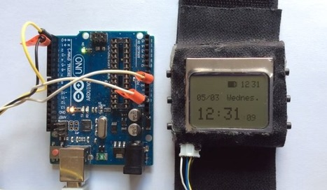 Tell Time and Blink an LED on Your Wrist with WatchDuino   Raspberry Pi   Scoop.it