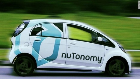 Singapore residents can now ride in a self-driving taxi | Future Trends and Advances In Education and Technology | Scoop.it