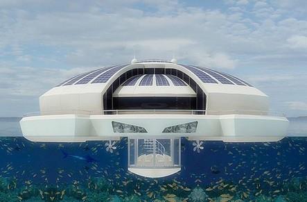 TOM, Travel On Move – Un hôtel flottant ouvrira ses portes aux Maldives   Hébergements touristiques, design et innovation   Scoop.it