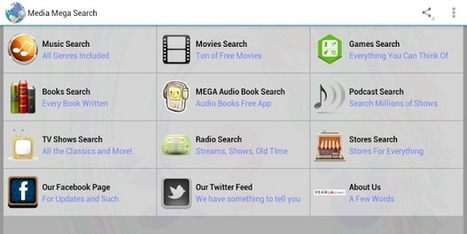 Media Mega Search Free - Applications Android on GooglePlay   Audiobooks   Scoop.it