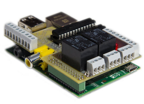 £20 PiFace Digital I/O Expansion Board for the Raspberry Pi Board | Embedded Systems News | Scoop.it