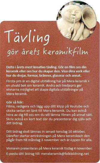 Mera keramik | – en inspirationsbank kring hantverk i lera | Folkbildning på nätet | Scoop.it