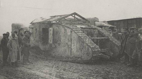 Grande Guerre : il y a 100 ans, les tanks débarquaient sur le champ de bataille - France 24 | Nos Racines | Scoop.it