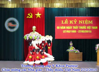 Trường Trung cấp Y khoa Pasteur Mít tinh kỉ niệm 60 ngày Thầy Thuốc Việt Nam | thongtintuyensinh | Scoop.it