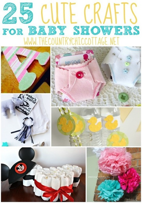 paper crafts baby shower decorations | Baby shower decoration ideas | THE GREAT KAPOK TREE | Scoop.it