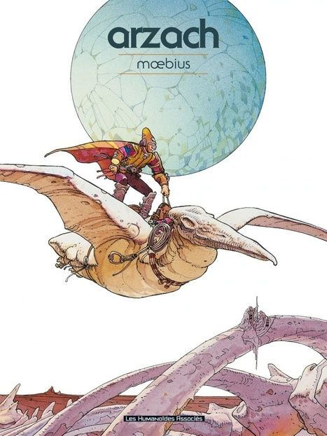 Moebius, pour quelques planches de plus | Slate | Bande Dessinée | Scoop.it