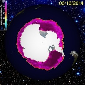 Polar Sea Ice Cap and Snow - Cryosphere Today