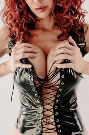 POTD (Boobie Tuesdays): Squeezed Boobies in Sexy Latex! - Bianca Beauchamp | The Latex Fetish | Scoop.it