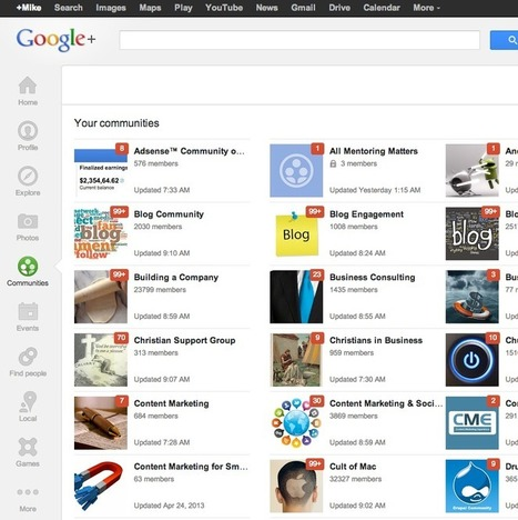 Cleaning Up Your Google+ Communities | Everything Marketing You Can Think Of | Scoop.it
