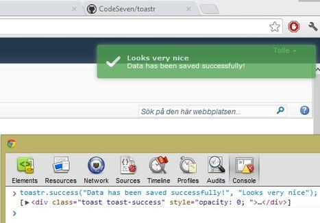 Toastr & SignalR – A Match Made in Heaven   .Net & Web Apps   Scoop.it