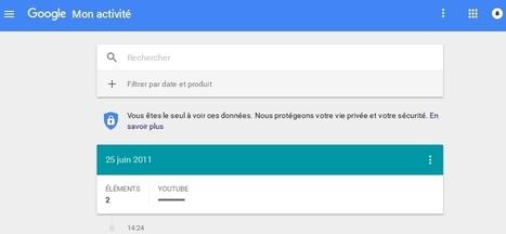 Google a consigné des données personnelles datant de 2011 ! | Informatique | Scoop.it