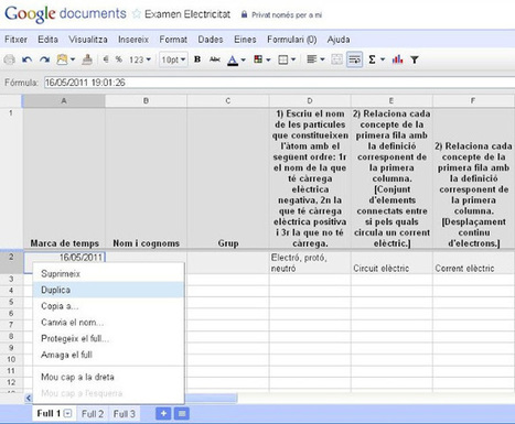 Corregir un formulario con Google documentos | tecno4 | Scoop.it