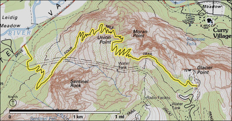 Four Mile Trail - Yosemite National Park (U.S. National Park Service) | Authentic Yosemite | Scoop.it