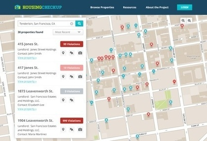 12 Fresh Ideas for Transforming the Places We Live With Open Data | Journalisme 2.0 | Scoop.it