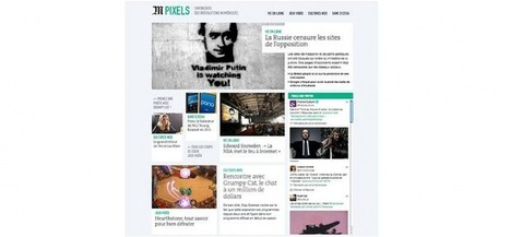 Le site du Monde lance la rubrique Pixels | QRiousCODE | Scoop.it