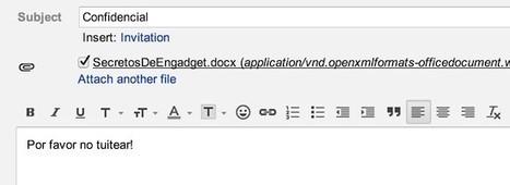 Gmail ahora puede buscar texto en archivos adjuntos | Soy un Androide | Scoop.it