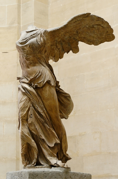 Nike_of_Samothrake_Louvre_Ma2369_n4.jpg (2300x3485 pixels) | ARCHAIC period art 800-500BCE | Scoop.it