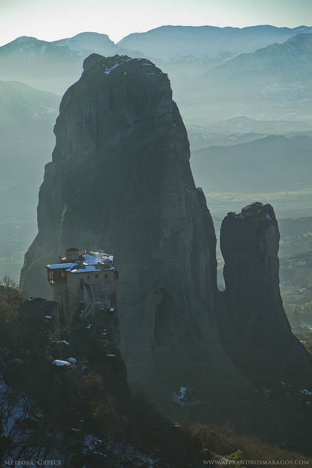 Geological Photography: Meteora, Greece | Abduzeedo | Graphic Design Inspiration and Photoshop Tutorials | Digital-News on Scoop.it today | Scoop.it