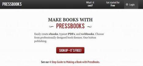 PressBooks pasa a ser de código abierto, para crear y publicar libros | Educación a Distancia y TIC | Scoop.it