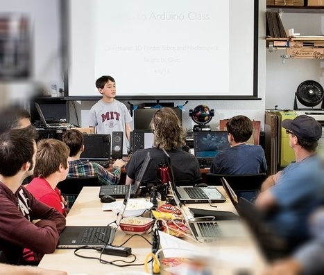 "POPSCI : ""Quin Etnyre, a 12-year-old's quest to remake education, one Arduino at a time 
