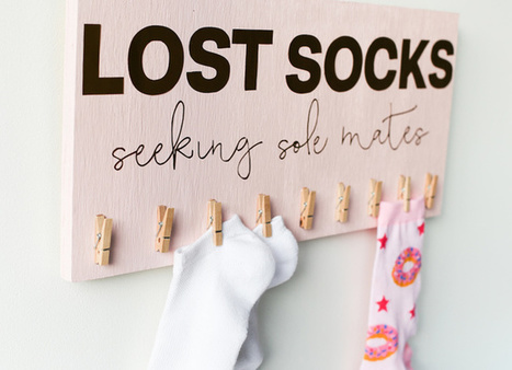 12 Ways to Make the Best Out of Your Single Socks | How Cleaners Clean | Home improvement | Scoop.it