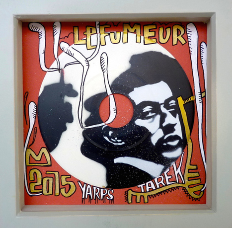 Gainsbourg by Tarek & Yarps | Tarek artwork | Scoop.it