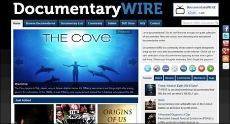 The Best Websites for Watching Free Documentaries | technologies | Scoop.it