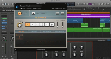 Exploring Logic Pro X MIDI Plugins: The Arpeggiator - Logic Pro Expert | MAT : Musique Assistée par Tablette | Scoop.it