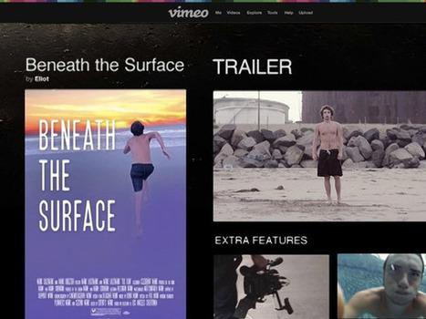 Vimeo on Demand, les créateurs peuvent désormais vendre leurs oeuvres aux internautes | L'influence des sites de partage en ligne | Scoop.it