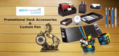 Why Custom Pens are Most popular Promotional Desk Accessories? | Promotional products | Scoop.it