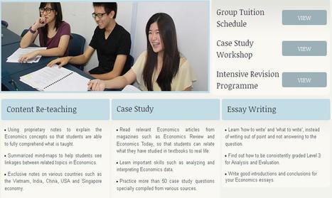 Group Tuition Classes | H2 Economics | Scoop.it