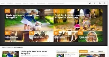 Newsbook Blogger Template   Blogger themes   Scoop.it