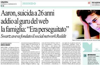 PAZZO PER REPUBBLICA - il blog dei feticisti di Repubblica: L'ultimo scivolone del nostro caro Angelo. | È la bruttezza, stampa! | Scoop.it