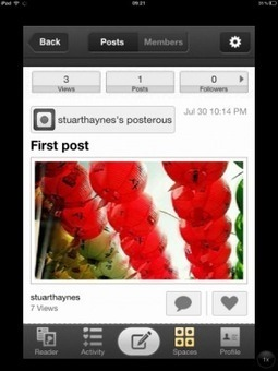 Posterous   iPad tips   Scoop.it