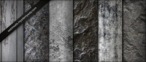 Greyscale Natural Grunge Textures | WebTreats ETC | Textures and Backgrounds Journal | Scoop.it