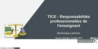 Usages responsables des TICE — Enseigner avec le numérique — Éduscol numérique | Le numérique, la pédagogie et l'enseignement supérieur | Scoop.it