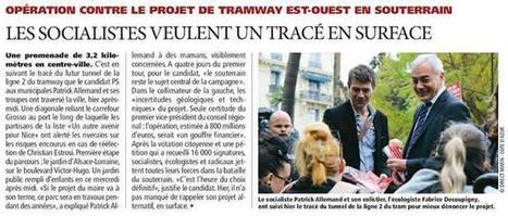 Ligne 2 du Tramway : Patrick Allemand veut un tracé en surface   Nice 2014, Un autre Avenir pour Nice avec Patrick Allemand   Scoop.it