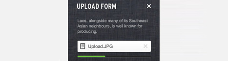 How to Create an Upload Form using jQuery, CSS3, HTML5 and PHP [Tutorial] | jsp forms | Scoop.it