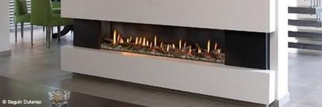 Les poêles et inserts se dévoilent dans un fonctionnement au gaz | Conseil construction de maison | Scoop.it